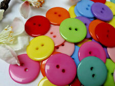 100 Knöpfe Kunststoff ockerbeige sand matt gombok nasturi buttons кнопки 15mm