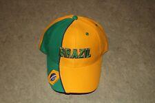 Brasilien Baseballcap WM 100% Baumwolle Neu Onesize