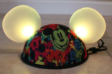 Disney Parks Mickey Mouse Light Up Ears Hat Cap Multi-color