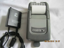 Zebra QL 220 Plus Mobile Thermal Printer Wireless Q2D with Power adapter