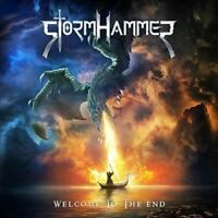 STORMHAMMER - WELCOME TO THE END   CD NEW+