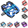 "Mzyrh MTB Mountain Bike Pedals CNC 9/16"" Cycling Bicycle Sealed 3 Bearing Pedals"