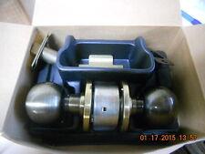 """Schlage A40S Orbit x 609 Antique Brass privacy lock 2-3/8"""" backset"""
