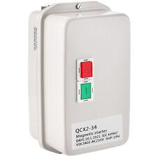 Vevor 5 Hp Single Phase Magnetic Starter Motor Control 230 Volt 34 Amps Switch