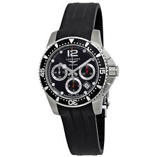 Longines HydroConquest Black Dial Chronograph Mens Watch L37444562
