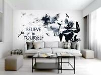 3D Glaube An Dich M692 Tapete Wandbild Selbstklebend Abnehmbare Aufkleber Amy