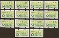 BRD ATM 1981 TS1 postfrisch #a353
