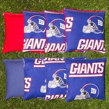 Cornhole Bean Bags Set of 8 ACA Regulation Bags New York Giants Free Shipping!