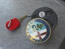 GTV SPIDER 916 ORIGINAL Heckschloß / Emblem + Schlüssel hinten Schloss 60578520