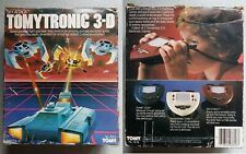 Tomytronic 3-D Sky Attack - Boxed 1983 Handheld Electronic Game - Needs Repair