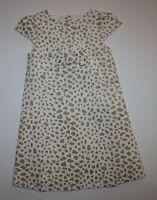 New Gymboree Right Meow Velveteen Leopard Animal Print Dress 18-24m NWT Girls