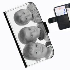 SALE NEW PERSONALIZED LEATHER WALLET/FLIP MOBILE CASE COVER FOR ALL PHONE MODELS