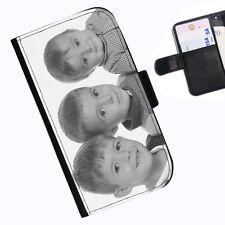 Custom Leather Wallet/flip Mobile Case Cover for All Phone Models LG K10 (2017)