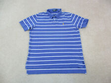 New listing Ralph Lauren Polo Shirt Adult Extra Large Blue Pony Rugby Casual Men A98 *