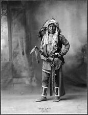 Photo. 1890s. White Swan - Crow Native American Indian