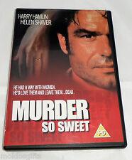 Murder So Sweet (DVD, 2004) Region 0 PAL