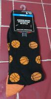 Mens Novelty Socks fits shoe size 6-12- Basketball