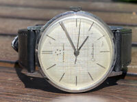 Vintage Mens Eterna-matic Centenaire Automatic Wrist Watch Working
