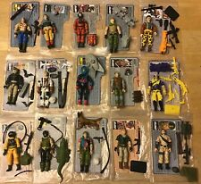 Gi Joe 15 figure lot with file cards