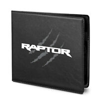 Ford F-150 Raptor Claw Marks Insurance Registration PU Leather Document Wallet