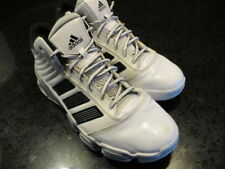 Mens 2010 Adidas Boost Athletic Shoes in White w/Black Stripes 600001 - Size 8.5