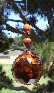 Feng Shui Creativity Crystal - 40 mm orange