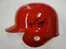 Maicer Izturis Hand Signed Autographed Anaheim Angels Mini Helmet