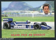 CP SPORT, AUTOMOBILE, GRAND PRIX de Monaco, BRABHAM - E. DE ANGELIS