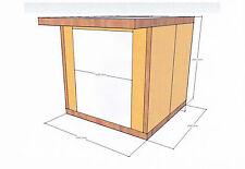 Insulated Garden Studio Office Room Pod,DIY Self Build Kit, Bespoke SIPs Panels