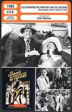 LES CADAVRES NE PORTENT PAS DE COSTARD - Martin,Ward,Ladd (Fiche Cinéma) 1982