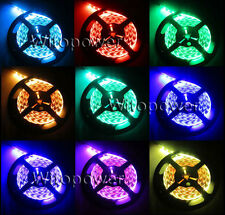 24V 16FT 5050 RGB LED Strip 5M 300 leds 60LEDS/M SMD Flex Light Non-Waterproof