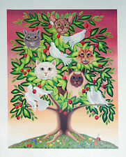 "Oherline ""Cat Tree""  Hand signed Ltd. Ed. Artist Proof Poster"