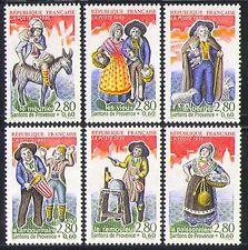 FRANCE 1995 Croix Rouge/FIGURINES/Âne/Mouton 6 V n32125