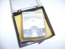 Vintage VU meter _ Japan -1022 from radio estate