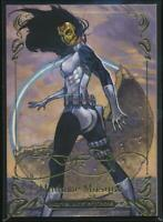 2018 Marvel Masterpieces Gold Foil Trading Card #6 Madame Masque (Tier 1)