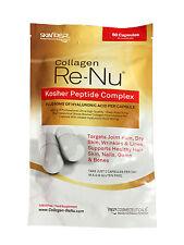 SkinPep Collagen ReNu Kosher Bovine Collagen Complex - 30 Day Supply - 60 Caps