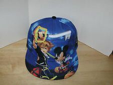 Disney Kingdom Hearts All Over Sublimation Snapback Hat New With Tags IN HAND