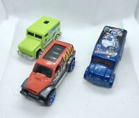 Hot Wheels Van Bundle Joblot Die Cast Collectible