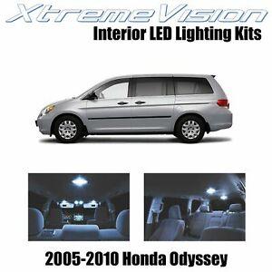 XtremeVision Interior LED for Honda Odyssey 2005-2010 (11 PCS) Cool White