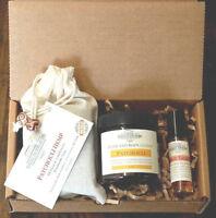 Patchouli Lovers Gift Box, Patchouli soap & lotion, Patchouli Tangerine oil.