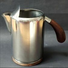 Lundtofte Kanne mit Eislippe,Erik Herlow,Dansk,milk ice water can,pot,pitcher