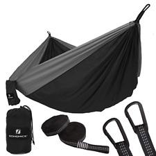 Hamac Siège Suspendu Camping Ultra-Léger Charge Max. 300 kg 2 Personnes