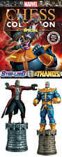 THANOS & STAR-LORD figurine~Marvel Chess Collection Special~Eaglemoss~kings~NIP