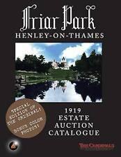 Friar Park: 1919 Estate Auction Catalogue by The Cardinals (Paperback / softback, 2014)