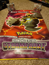 "Pokemon Prerelease Poster 24/""x36/"" Blaziken Ex Crystal Guardians"