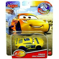 RARE Disney Pixar Cars Color Changing ( 2-in-1 ) DINOCO CRUZ RAMIREZ Car Mattel