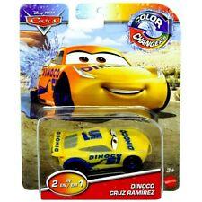 RARE Disney Pixar Cars Color Changing ( 2-in-1 ) DINOCO CRUZ RAMIREZ Car Mattel