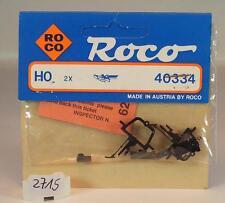 Roco H0 40334 Kurzkupplung Nachrüstsatz 2 Stück OVP #2715