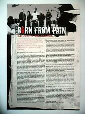 COUPURE DE PRESSE-CLIPPING :  BORN FROM PAIN  02-03/2007 Karl,War