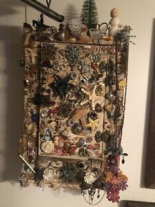 handmade cabinet with jewels